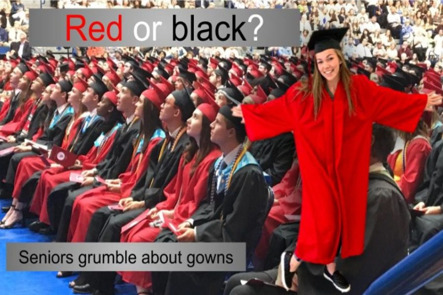 Don't fix if it isn't broken. Students want red and black graduation gowns.