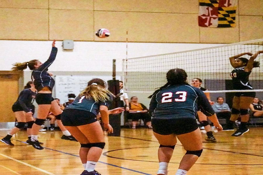 JV Volleyball digs pink in regional tournament: Photo of the Day 10/14/19