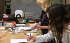 Art class gets creative with living subjects: Photo of the Day 11/15/19