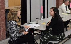 Juniors practice job skills with mock interviews: Photo of the Day 11/14/19