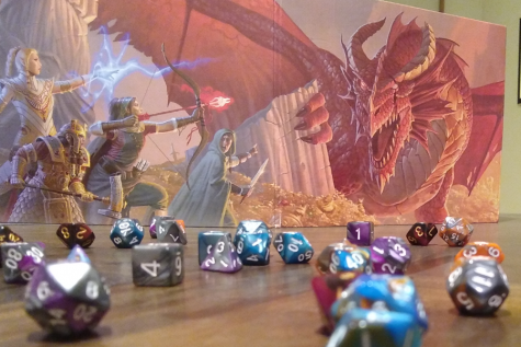 All you need to play D&D is 6 multi-sided dice, some friends, and a fun imagination.