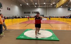Indoor track and field teams surprise competition at the Smithsburg Invitational