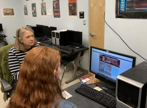 Dr. Elizabeth Atwood encourages Lancer Media journalists to plan for future