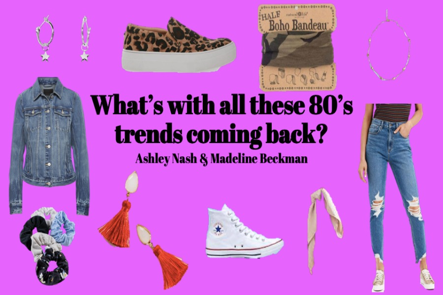 Fashion Trends from the 80's and today.