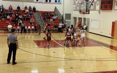 Girls basketball falls short in a hard fought battle against Saint James: Photo of the day 2/18/2020