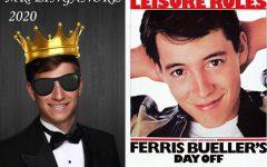 Weinel portrays high school hero Ferris Bueller in Mr. Linganore 2020