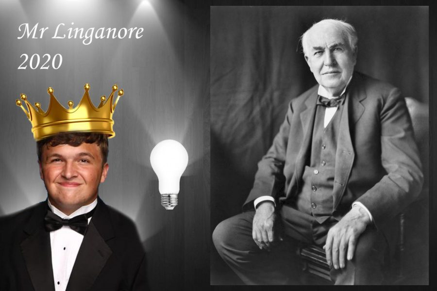 Jeremy Hilton plans to light up the Mr. Linganore competition