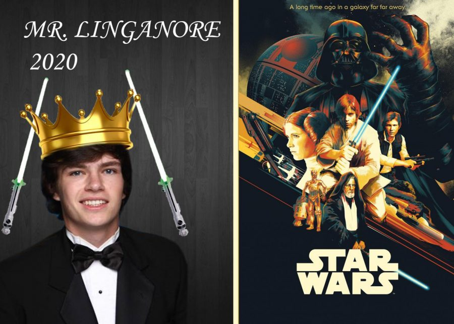 """Goundry will use his """"force"""" to win the Mr. Linganore crown as Luke Skywalker"""