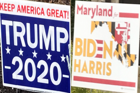 The election has become a war of signs--not a war in the classroom.