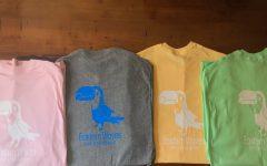 Steaphan Nolan's Eastern Waves t-shirts.