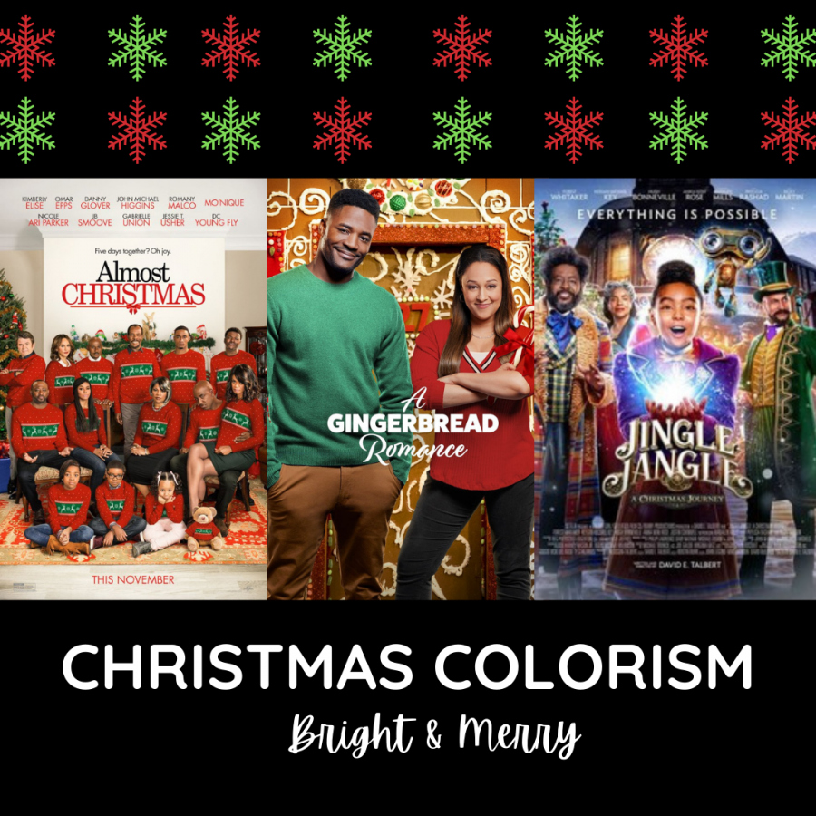 Black Christmas Movies often display acts of colorism. Featuring a lighter complexed cast over more deeply melanated actors and actresses. This is typical in females over males. Where the females would be casted lighter, because they are seem as