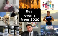 A photo collage of what we think are the best events that happen in 2020.