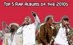 Top 5 rap albums of the 2010s