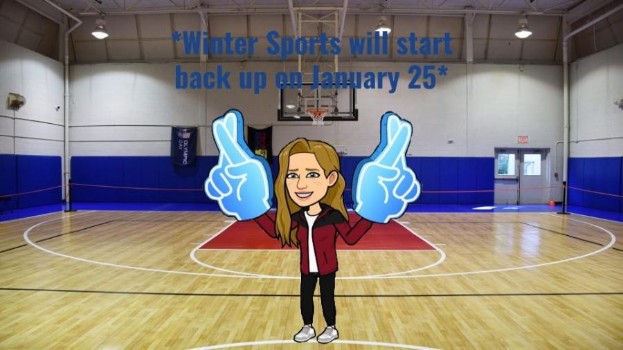 Winter sports are starting back up January 25.