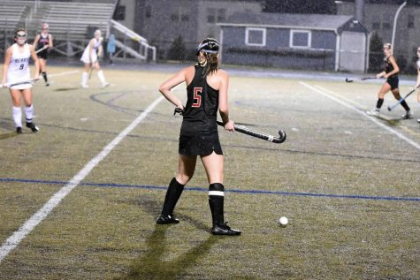 Sierra Rossman at last seasons playoff game against Oakdale.