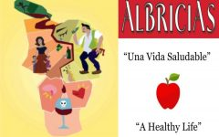 "Galilea Hernández's artwork, ""La Barrera del Alcohol"" and the theme of the March 2021 edition of Albricias."
