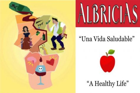 "Galilea Hernández's artwork, ""La Barrera del Alcohol"" and the theme of the March 2021 edition of Albricias."