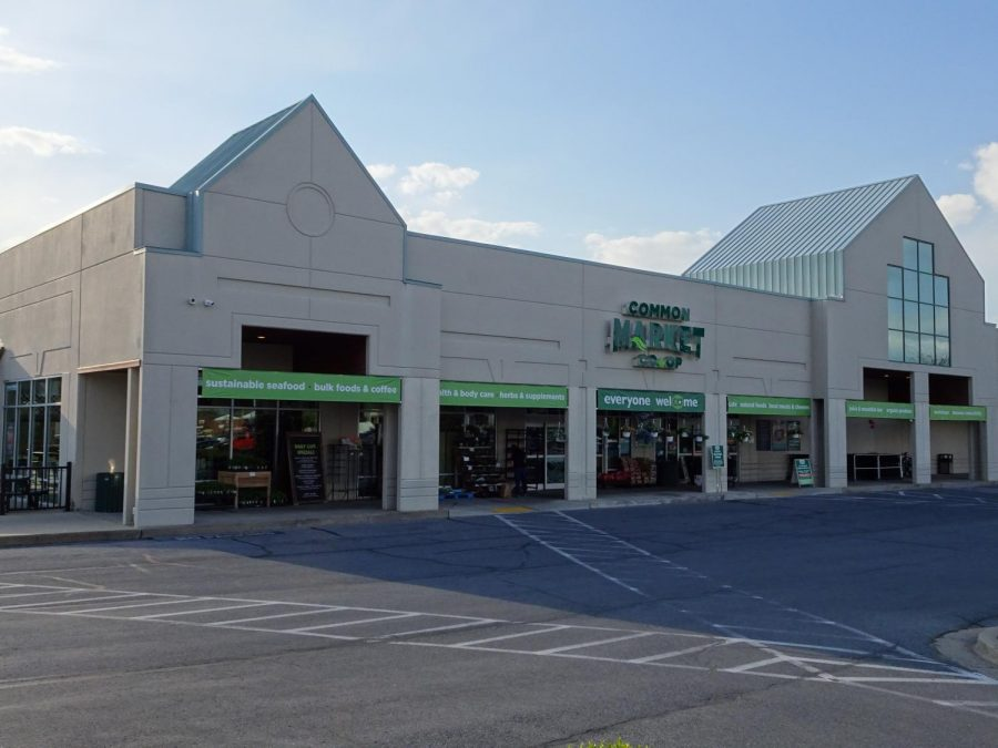 The front of the Common Market in Frederick, MD.