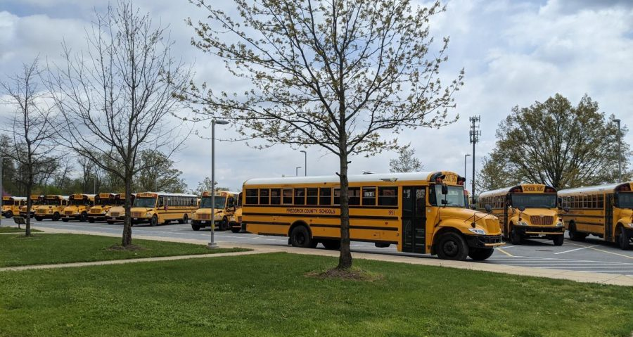 For the first time in a year, yellow buses are a frequent sight in front of the school.