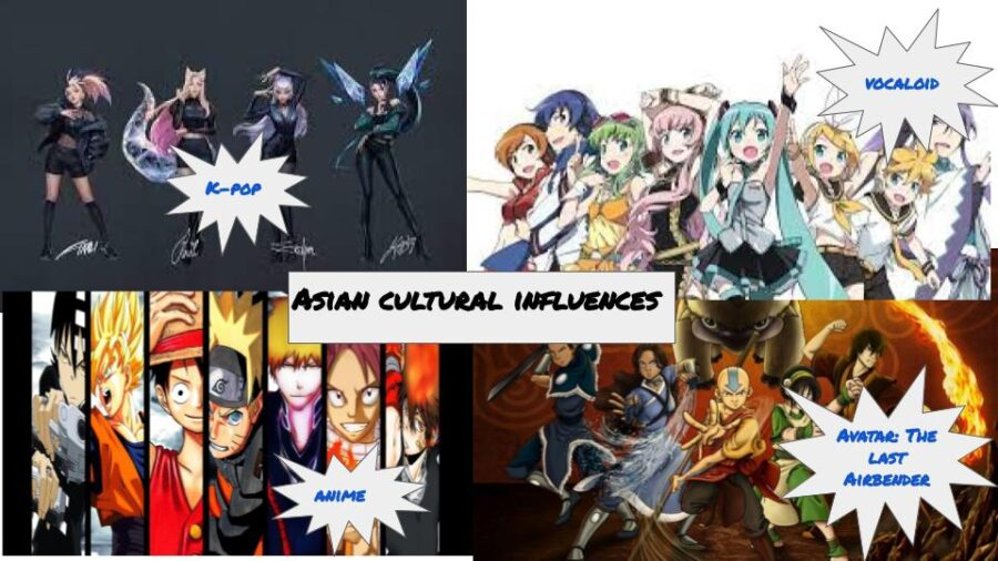 Asia drives pop culture music and animation