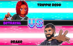 Trippie Redd uses an art style common to the Pokemon games series for his new song with Drake titled Betrayal in order to attract more views.