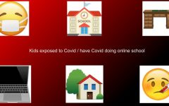 How kids are learning from home while exposed to Covid or have Covid